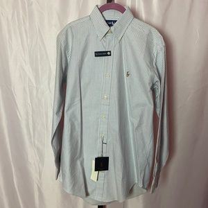 Ralph Lauren Cotton Button Down Shirt, sz 14.5/33